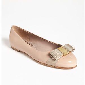 Salvatore Ferragamo size 5 Pink Ballet Flat